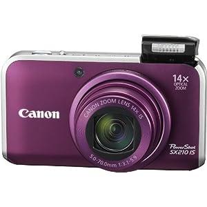 【クリックで詳細表示】Canon デジタルカメラ PowerShot SX210 IS 1410万画素 光学14倍ズーム 広角28mm 3.0型ワイド液晶