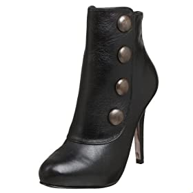 Steve Madden Elivate Ankle Boot - Free Overnight Shipping & Return Shipping: Endless.com :  elevate buttons black bootie ankle