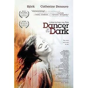 映画ポスター『ダンサーインザダーク』 ビヨーク主演の一風変わった暗いミュージカル