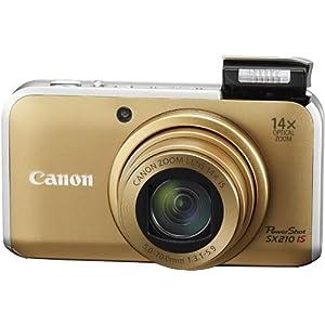 【クリックで詳細表示】Amazon.co.jp|Canon デジタルカメラ PowerShot SX210 IS ブラック PSSX210IS(BK)|カメラ・ビデオ通販