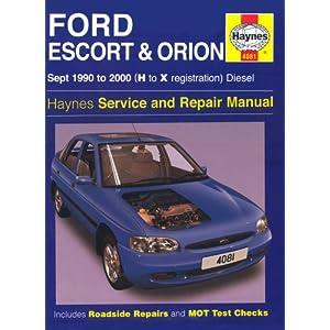 【クリックでお店のこの商品のページへ】Ford Escort and Orion Diesel Service Repair Manual: 1990 to 2000 (H to X Reg) (Haynes Service and Repair Manuals): R. M. Jex: 洋書