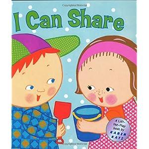 【クリックでお店のこの商品のページへ】I Can Share: A Lift-the-Flap Book (Karen Katz Lift-the-Flap Books): Karen Katz: 洋書