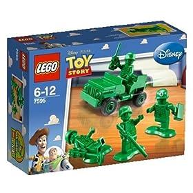 レゴ トイ・ストーリー パトロール中のグリーン・アーミー・メン 7595