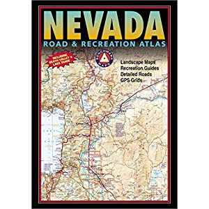 【クリックで詳細表示】Nevada Road & Recreation Atlas (Benchmark Map: New Mexico Road & Recreation Atlas) [ペーパーバック]