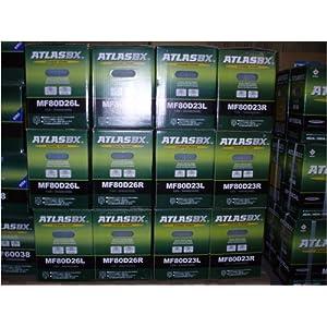 【クリックで詳細表示】ATLAS アトラス バッテリー 55B24L