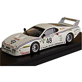 【クリックでお店のこの商品のページへ】Amazon.co.jp | 1/43 フェラーリ 512 BB LM 3シリーズ 81 ル・マン24時間 #48 | おもちゃ 通販