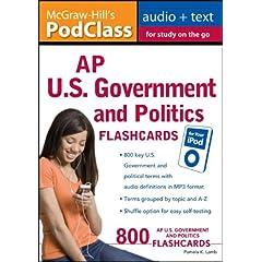 【クリックでお店のこの商品のページへ】5 Steps to a 5 AP U.S. Government and Politics Flashcards for your iPod with MP3/CD-ROM Disk (5 Steps to a 5 on the Advanced Placement Examinations Series)