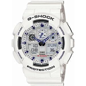 カシオ (CASIO) 腕時計G-SHOCK GA-100A-7AJF メンズ