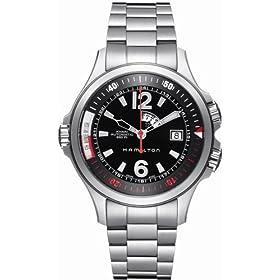 【クリックで詳細表示】[ハミルトン]HAMILTON 腕時計 KHAKI NAVY GMT H77555135 メンズ [正規輸入品]: 腕時計通販