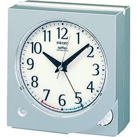SEIKO CLOCK (セイコークロック) 目覚し時計 スタンダード 電波時計 ツイン・パ KR316S