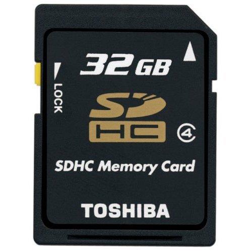 東芝 SDHC カード 32GB Class4 SD-K32GR5W 海外パッケージ品