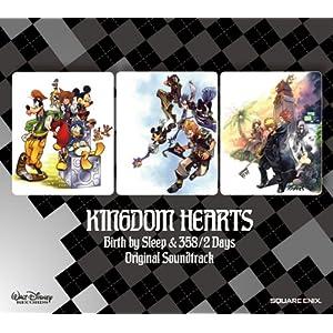 【クリックで詳細表示】ゲーム・ミュージック : KINGDOM HEARTS Birth by Sleep&358/2 Days オリジナル・サウンドトラック - 音楽