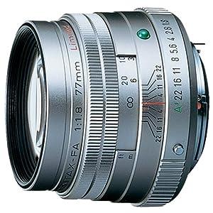 PENTAX 望遠 レンズ FA77mm F1.8 Limited シルバー FA77F1.8S