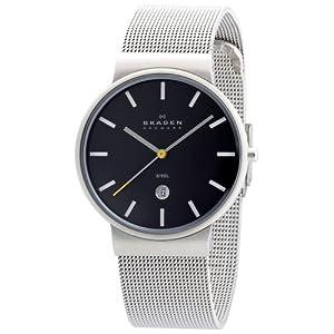 SKAGEN (スカーゲン) 腕時計 basic steel mens J351LSSBCY ケース幅: 34mm メンズ 日本限定カラー [正規輸入品]