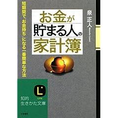 お金が貯まる人の「家計簿」 (知的生きかた文庫)