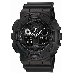 【クリックで詳細表示】[カシオ]CASIO 腕時計 G-SHOCK ジーショック STANDARD GA-100-1A1JF メンズ: 腕時計通販