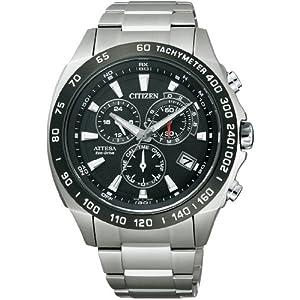 CITIZEN(シチズン) 腕時計 ATTESA アテッサ Eco-Drive エコ・ドライブ 電波時計 ATP53-3033 メンズ
