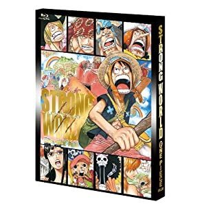 ワンピースフィルム ストロングワールド Blu-ray