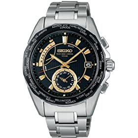 SEIKO (セイコー) 腕時計 BRIGHTZ ブライツ ワールドタイム ソーラー 電波時計 SAGA033 メンズ