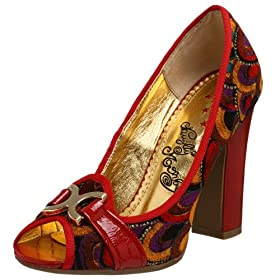 Endless.com: Naughty Monkey Women's Paris Stroll Pump: Categories - Free Overnight Shipping & Return Shipping :  monkey pump california red