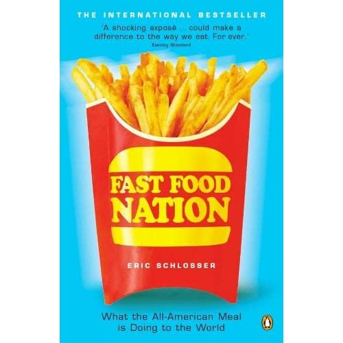 "fast food nation epilogue summary Academic controversy  ""what's in the meat"" ""epilogue:  fast food fast food facts dietary guidelines fast food nation soda / pop http://www."