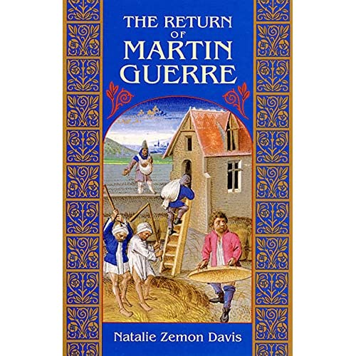 book review about the return of martin guerre (since, in my last post, i talked about natalie zemon davis and her book, the return of martin guerre, i thought to share with you a review i wrote a few years ago, while i was still an undergraduate at yeshiva university, on the book.