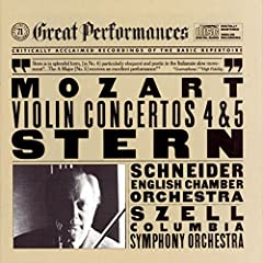 George Szell, Mozart Violin Concerto played by Isaac Stern