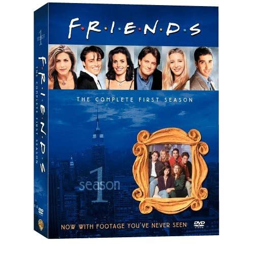 Друзья - Сезон 1 (Friends - Season 1) [RUS+ENG] (ВСЕ серии)