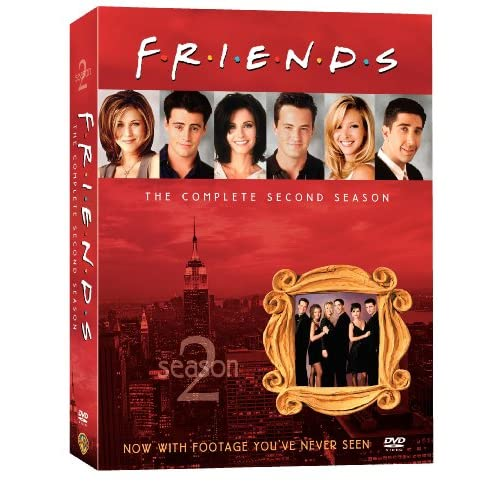 Друзья - Сезон 2 (Friends - Season 2) [RUS+ENG] (ВСЕ серии)