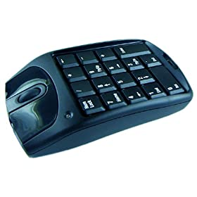 optical mouse with keypad