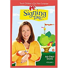 Signing Time -  An American Sign Language (ASL) Video for Children (Vol. 1)