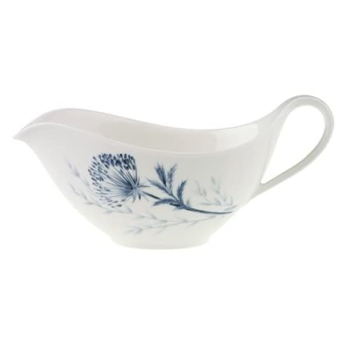 villeroy boch blue meadow gravy boat bone china new ebay. Black Bedroom Furniture Sets. Home Design Ideas