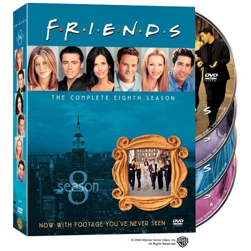 Друзья - Сезон 8 (friends - Season 8) [RUS+ENG DVDRipS] (ВСЕ серии)