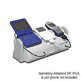 Personal Electronics Power Station - Charge iPod and other devices from one docking station