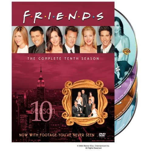 Друзья - Сезон 10 (friends - Season 10) [RUS+ENG DVDRipS] (ВСЕ серии)