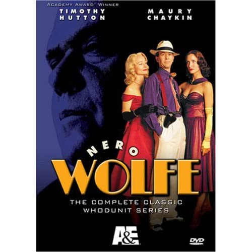 Nero Wolfe DVD cover